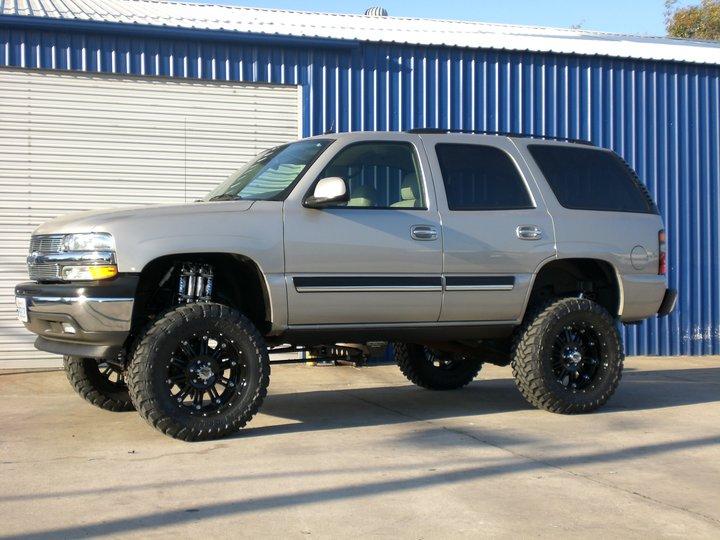 2001 chevy tahoe lift kit