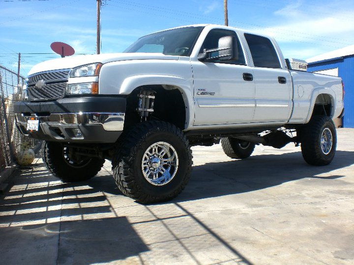 6 Inch Lift Kit For Chevy Silverado 1500 >> Chevy-GMC 2500-3500 6-8 Inch Lift Kit 2001-2010